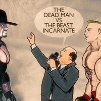 the undertaker vs brock lesnar
