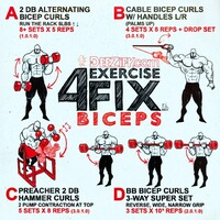 4 Exercise Fix - Bicep workout routine