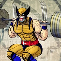 Leg Exercise: Barbell Squats with banded weights
