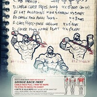 Book of Savage January Illustrated Workouts
