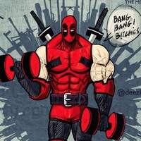Flex friday Arm Workout with Deadpool