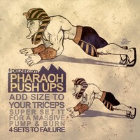 pharaoh push ups, push ups chest exercises