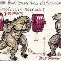 Quadzilla, Godzilla squats and bulgarian split squat