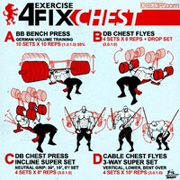 4 Exercise Fix - Chest workout routine