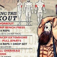 Tricep workout with Jason