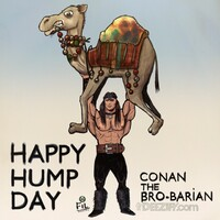 Hump Day with Conan the Barbarian