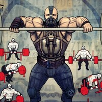 Barbell Back Workout with Bane