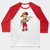 bronocchio workout baseball tee