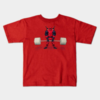 deadbro deadlift kids shirt