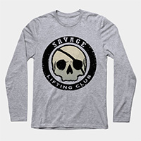 savage lifting club workout crewneck