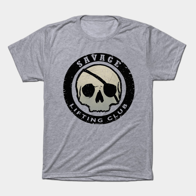 savage lifting club t-shirt
